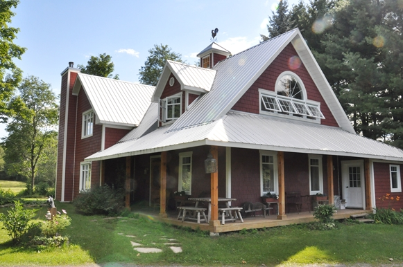 <b>St-Lazare, Quebec</b><br>Timber framed home in St-Lazare.