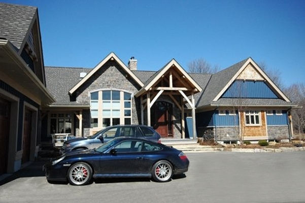 <b>Ottawa, Ontario</b><br>Timber frame home - exterior