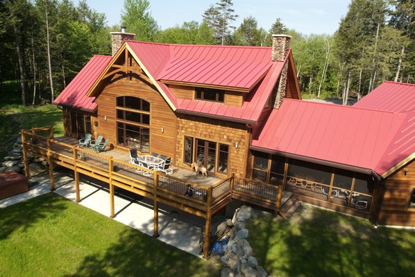 <b>Jay Peak, Vermont</b><br>Timber framed ski chalet